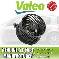 Renault Megane Mk2 2002-2008 Heater Fan Blower Motor Genuine Valeo Part With Ac