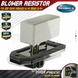 Résistance De Ventilateur De Ventilateur De Souffleur De Chauffage Pour Jeep Grand Cherokee Wj/wg Suv 5014212aa