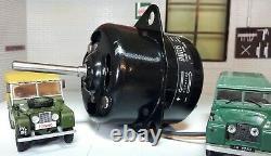 Smiths Round Heater Motor Blower Fan Oem Land Rover Series 1 2 2a 2b Swb 88