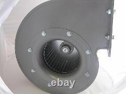 Souffleur De Ventilateur Centrifuge Industriel 2400m3/h 2900rp Vapeur Extrait Biomasse Puissant