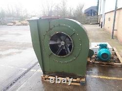 Système Industriel D'extraction De Poussière. Ventilateur De Souffleur, Moteur De 37.5kw, Delta D'étoile, Isolation