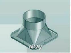 Ventilateur Centrifuge Blower 1950m³ + Speed Governor + 4-eck Flange +32.81ft