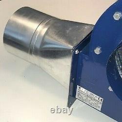 Ventilateur Centrifuge Extracteur Extracteur + Adaptateur Dust Fume Hydroponics Chambre Noire