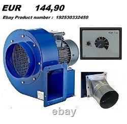 Ventilateur Centrifuge Industriel 2600m3/h 2900rp Échappement Extracteur De Fumée