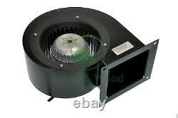Ventilateur D'extraction Centrifuge 200w 550m3/h 230v Chauffage Industriel Air Chaud