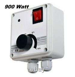 Ventilateur De Souffleur Centrifuge Industriel + Contrôleur De 900 Watts. Fumée De Fumée