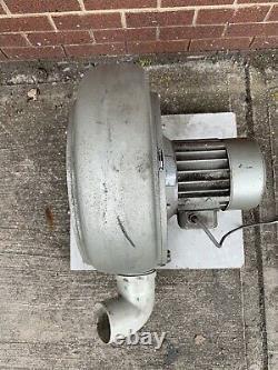 Ventilateur Industriel Centrifuge Radial 1,5kw Rietschle Extracteur Commercial Blower