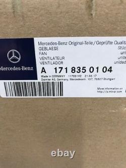 Véritable Mercedes Benz Slk 171 Heater Blower Motor A1718350104 (garantie Complète)