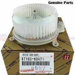 Véritable Toyota Landcruiser Uzj200 Vdj200 Série 200 Heater Fan Blower Motor